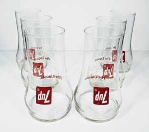 """7up """"The Uncola"""" Bell Shaped Glasses x6 for Sale in Lebanon, OR"""