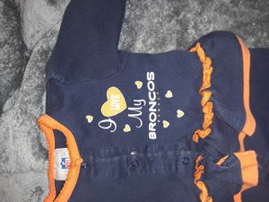 Baby broncos outfit for Sale in Arvada, CO