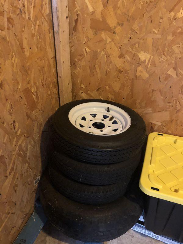 3 tires for trailer rings#12 5 holes