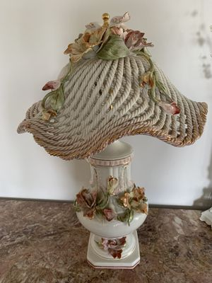 China Antique Flower Lamp for Sale in Rolling Hills, CA