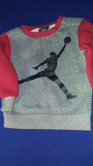 Air Jordan sweatshirt kids size 24 months for Sale in Garland, TX
