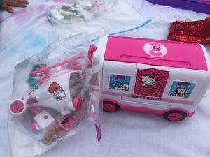 Hello Kitty Rescue Vehicle set for Sale in Rockville, MD