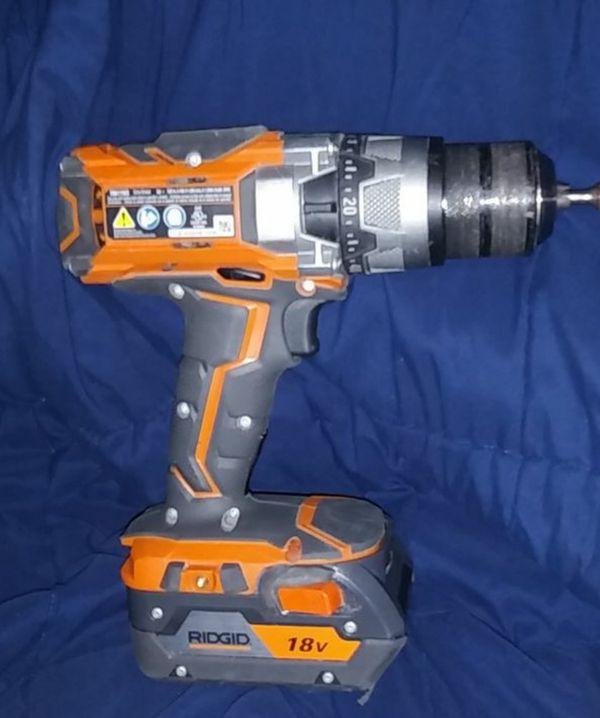 Rigid Gen 5x 18V Hammer Drill