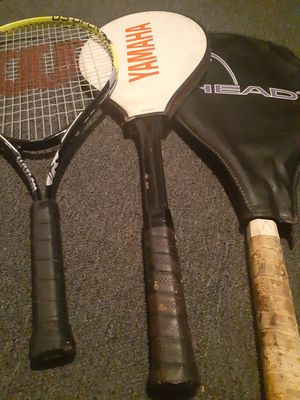 Yamaha Wilson and heads tennis rackets. for Sale in El Monte, CA
