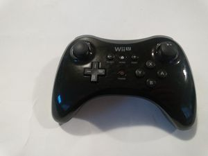 OEM Black Nintendo Wii U Controller for Sale in Chicago, IL