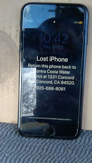 iPhone 7 it's locked make an offer for Sale in Bay Point, CA