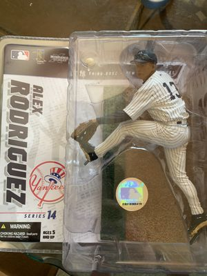 Yankee A-Rod action figure - never taken out of the package for Sale in Toms River, NJ