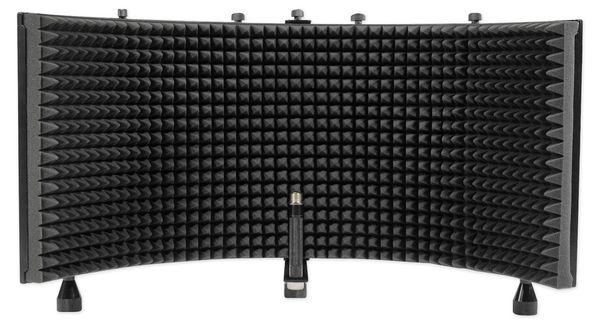 Pro AudioRockville Recording Studio Microphone+Isolation Shield+Headphones+Tripod Stand