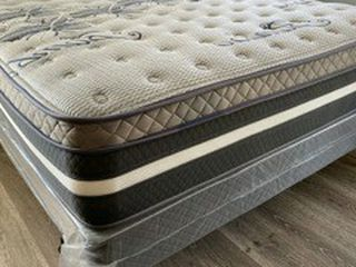 New Full Size Limited Edition Siesta Bamboo Plush Comfort Europillow Top MATTRESS And Boxspring for Sale in Burbank,  CA