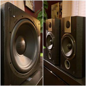 🇨🇵 JMLabs Focal 705V Speakers & SVS SB-1000 Subwoofer for Sale in Maricopa, AZ