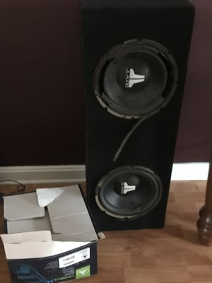 Brand new subwoofer in the box price is negotiable for Sale in Millersville, MD