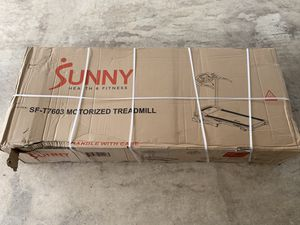 Sunny Health & Fitness Treadmill for Sale in Manassas, VA