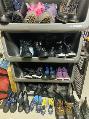 Snow boots all sizes for kids and adults for Sale in Surprise, AZ