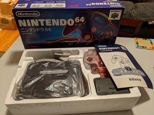 Nintendo 64 - Region Free + Extras - CIB for Sale in Durham, NC