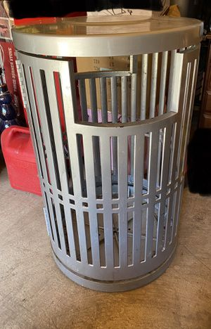 All metal industrial trash container- make a reasonable offer. for Sale in Woodburn, OR
