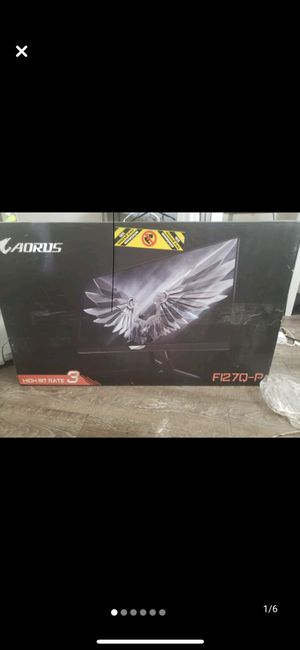 Aorus computer monitor f127q-p for Sale in Las Vegas, NV