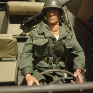 12 inch GI Joe with Army Jeep for Sale in Bonney Lake, WA
