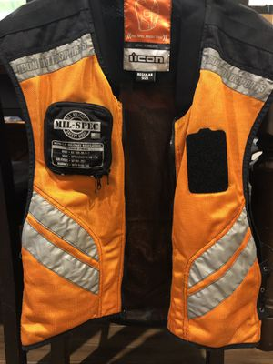 Icon motorcycle vest for Sale in Rosenberg, TX