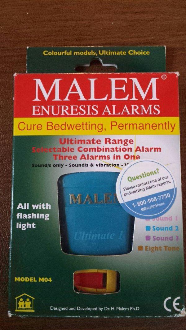 Enuresis alarm