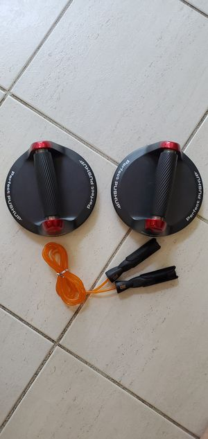 Perfect Pushup and Jump Rope for Sale in Boynton Beach, FL