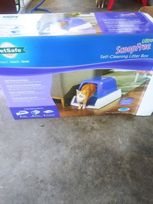 Cat litter self clean for Sale in Durham, NC