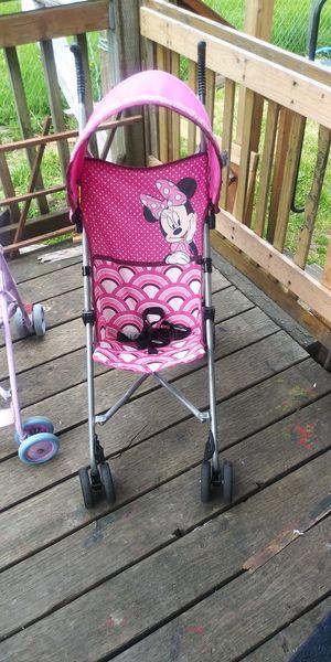 Disney Minnie Mouse Umbrella Stroller for Sale in Hoquiam, WA