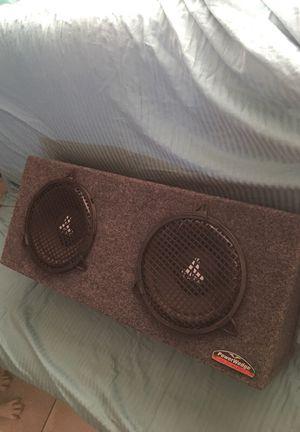 2 10' subwoofers JL audio/ Rockford Fosgate amp for Sale in Phoenix, AZ