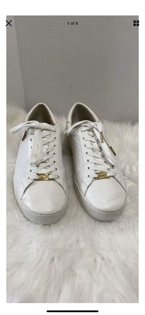 MICHAEL MICHAEL KORS Women's Colby Trainers - Optic White Size 9.5 for Sale in Dearborn, MI