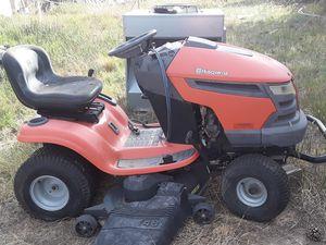 "Husqvarna Riding mower YTH2348 48"" DECK 23 HP for Sale in Elizabeth, CO"