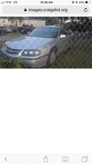 2005 chevy impala for Sale in Winter Haven, FL