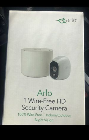 Arlo - Wireless Home Security Camera System | Night vision, Indoor/Outdoor, HD Video, Wall Mount for Sale in San Diego, CA