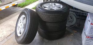 Stock Jeep Wrangler JL wheels and tires for Sale in Palm Harbor, FL