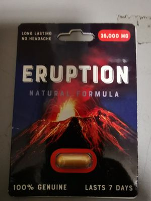 S e x pill eruption male enhancment 6 pieces for Sale in Spring Valley, CA