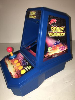 Vintage Taito/Excalibur SPACE INVADERS Electronic Mini ARCADE Tabletop Video Game Works great! for Sale in Brooklyn, NY