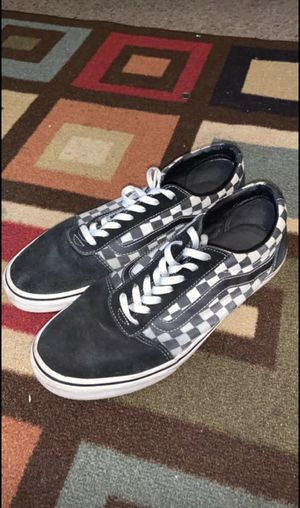 Checkered vans for Sale in West Valley City, UT
