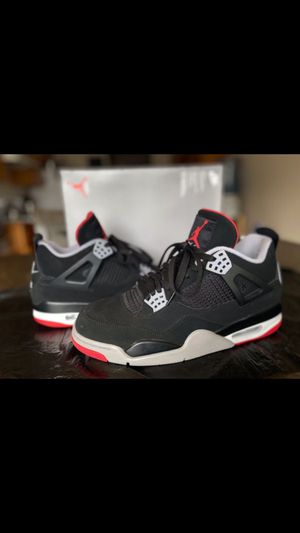 "Air Jordan 4 Retro ""BRED"" 2019 Size 11 for Sale in Tacoma, WA"