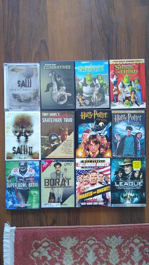 DVDs (12 total) for Sale in Miami, FL