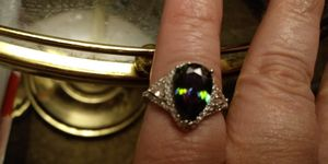 A Beautiful Multi-Color Oval Ring for Sale in Columbia, PA