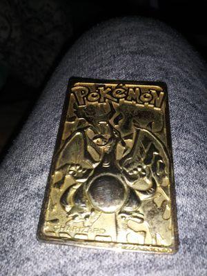Charizard 22kt Pokemon card for Sale in Lexington, MO
