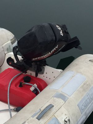 Inflatable Dinghy with outboard for Sale in San Diego, CA