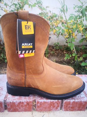 Brand new ariat Soft toe boots size 12 for Sale in Riverside, CA