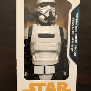 "DISNEY Star Wars Imperial Patrol Trooper 12"" action figure Hasbro NIB Disney Stormtrooper for Sale in Corona, CA"