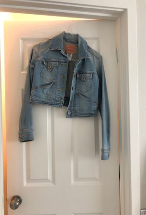Levi's short denim jacket for Sale in Portland, OR