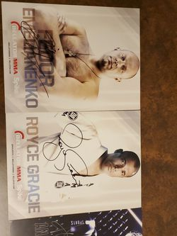 MMA Autographs for Sale in Chatham,  IL