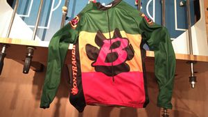 Vintage Bontrager Rasta long sleeve jersey. for Sale in Island Lake, IL