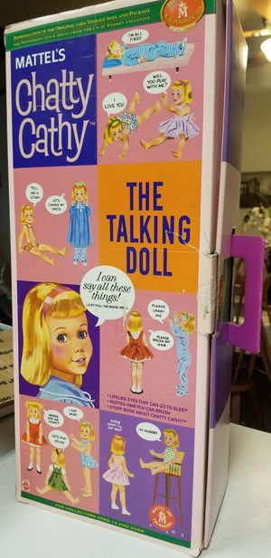 Chatty Cathy 1960 Vintage Doll & Package for Sale in Harrisburg, AR