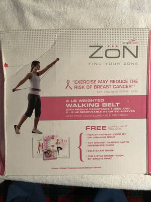 4lb Weighted Walking Belt - new for Sale in Bay City, MI