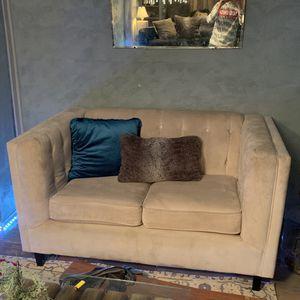 Like Velvet Champagne Couch for Sale in Denver, CO
