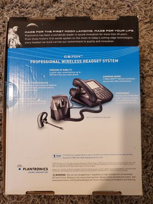 Professional Wireless Headset System Plantronics for Sale in Milpitas, CA