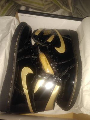 Jordan 1 Black and Gold Highs MULTIPLE SIZES AVAILABLE for Sale in Alexandria, VA